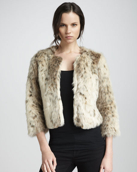 Deville Faux-Fur Jacket
