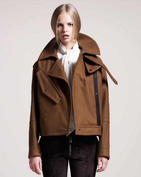 Stratford Cropped Raglan Jacket