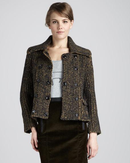 Heritage Tweed Peplum Jacket