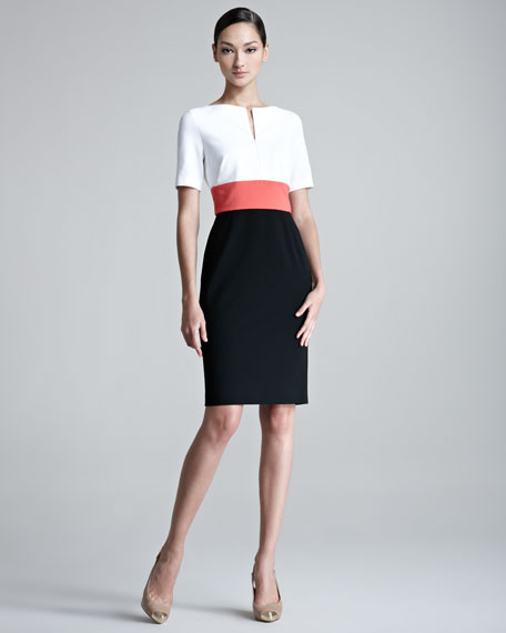 Danusia Colorblock Colorblock Dress