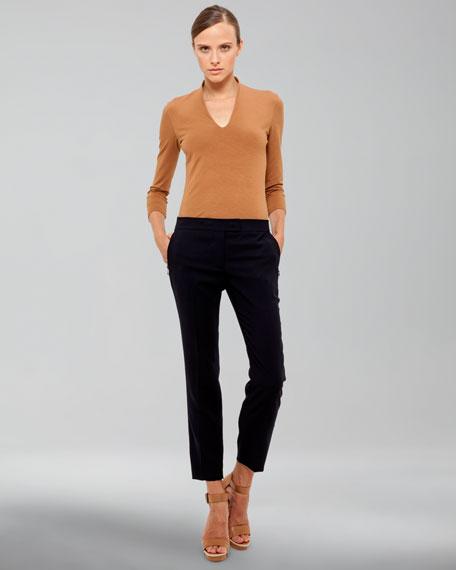 Frances Medium-Rise Pants