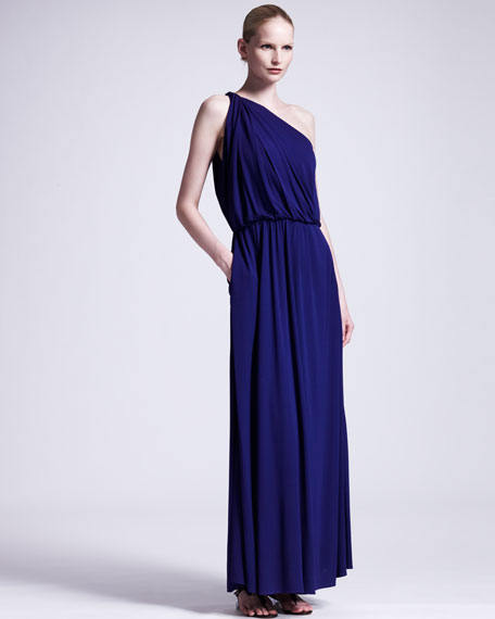 One-Shoulder Gown