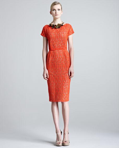Jigsaw Lace Dress with Slip