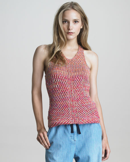 Racerback Knitted Tank