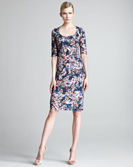 Etta Floral-Print Dress
