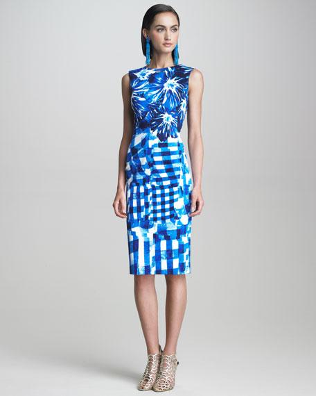 Floral & Gingham Dress