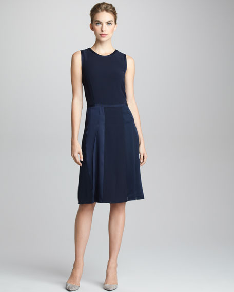 Hand-Stitched Sleeveless Dress