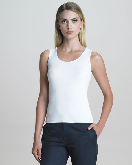 Sleeveless Jersey Shell