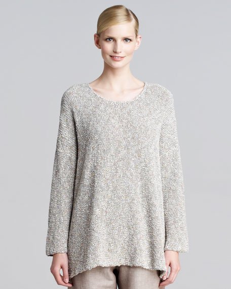 Bateau-Neck Sweater