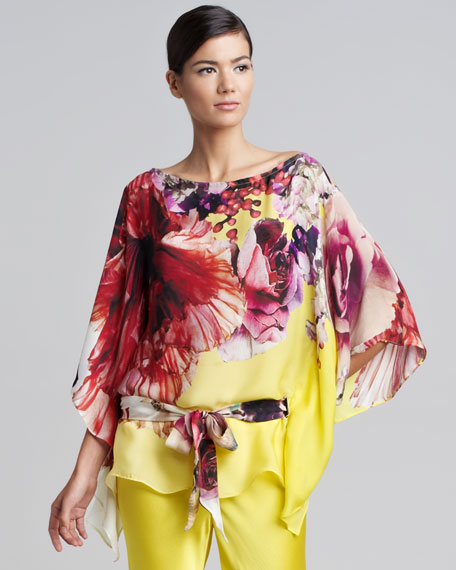 Floral Caftan Top