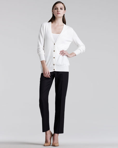 Easy-Fit Tailored Pants
