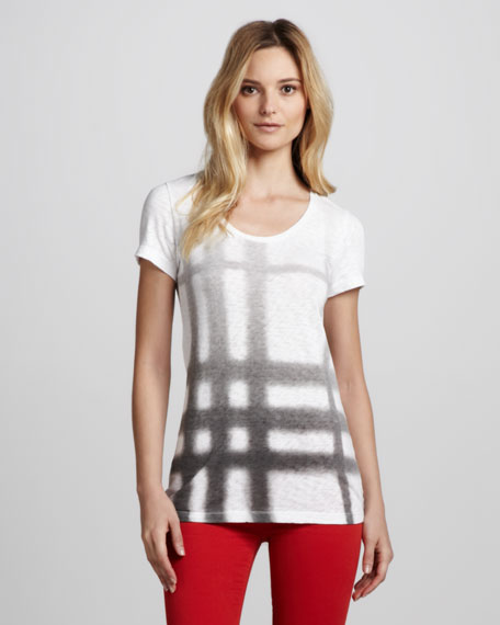 Ombre Exploded-Check Tee