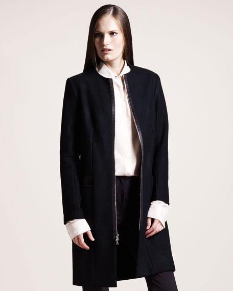 Felted Melton Coat