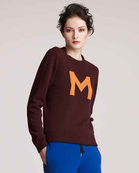 """""""M"""" Sweater"""