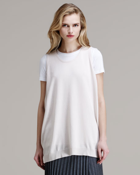 Cashmere Sleeveless Pullover
