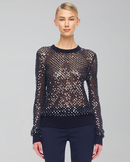 Cashmere Paillette Sweater