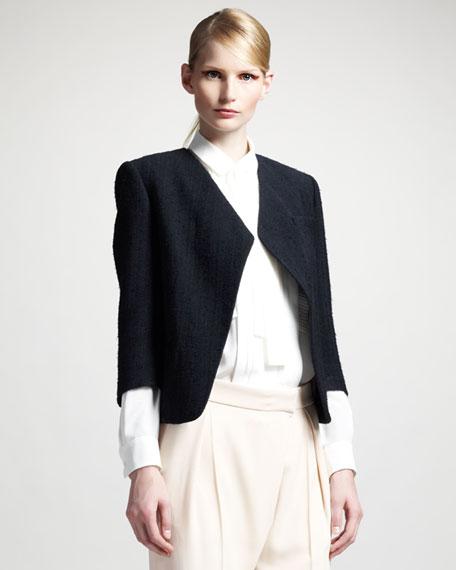 Raw Silk Jacket