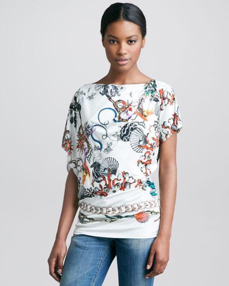 Thalassa Printed Multicolor Top
