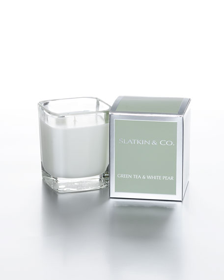 Green Tea & White Pear Candle