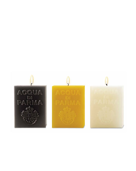 Cube Candle, White