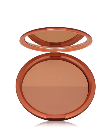 Bronze Goddess Soft Duo Bronzer - Amber Bronze Medium Duo