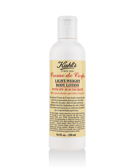 Creme de Corps Light Weight Body Lotion with SPF 30