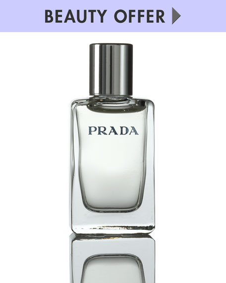 Yours with any $108 Prada Fragrance Purchase