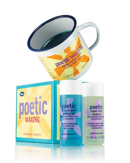 poetic waxing kit