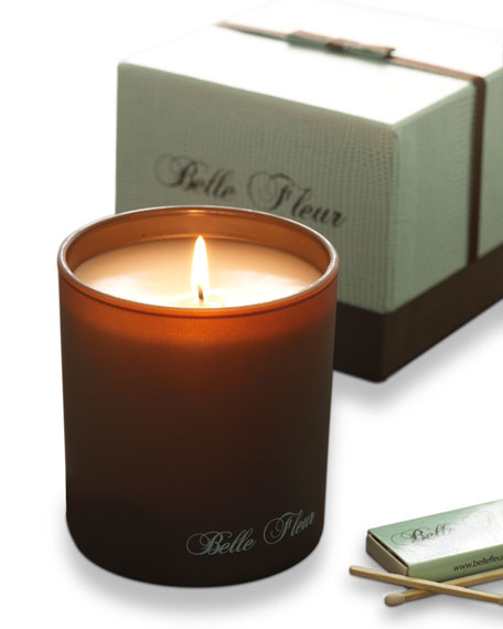 Orange Blossom Pomegranate Candle