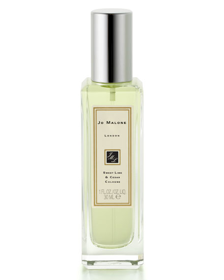 Sweet Lime & Cedar Cologne, 1 oz.