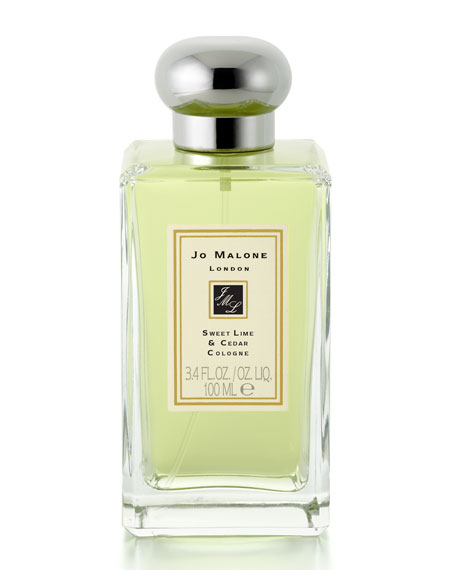 Sweet Lime & Cedar Cologne, 3.4 ounces