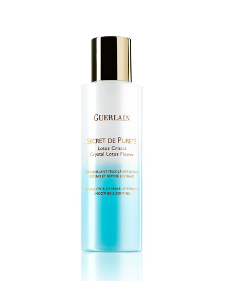 Secret de Pureté Eye & Lip Makeup Remover