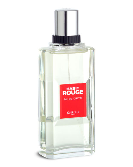 Habit Rouge Eau de Toilette, 3.4 oz./ 100 mL