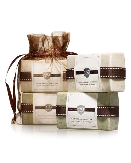 Grape Seed Antioxidant Soap Set