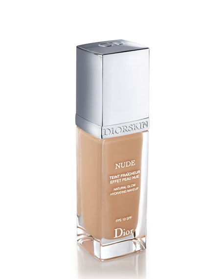 Diorskin Nude Fresh Glow Hydrating Makeup SPF 10