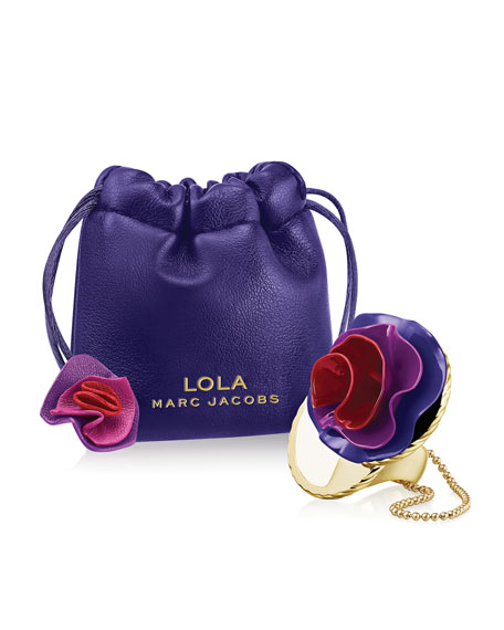 Lola Solid Perfume Ring