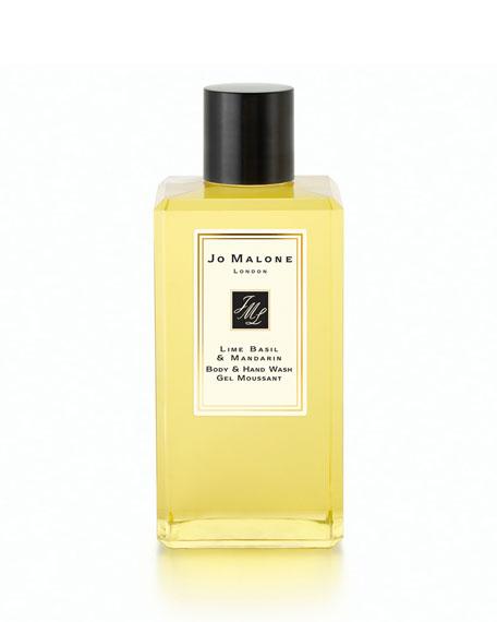 Lime Basil & Mandarin Body & Hand Wash, 3.4 oz.