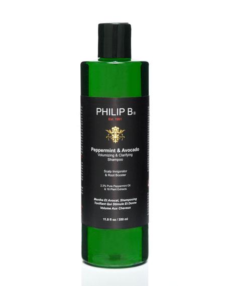 Peppermint & Avocado Volumizing & Clarifying Shampoo, 11.8 oz.