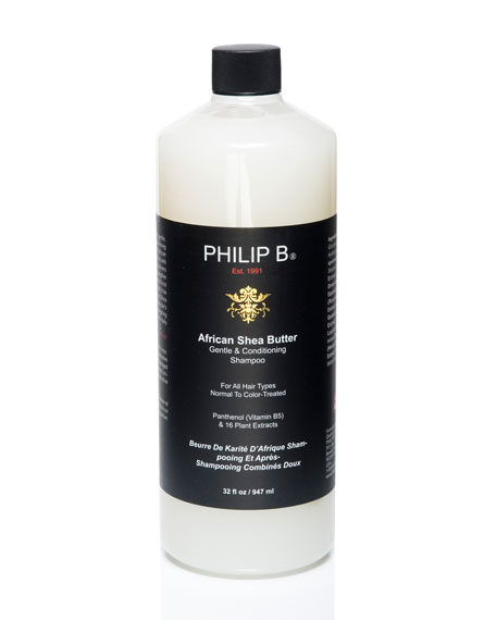 African Shea Butter Gentle & Conditioning Shampoo, 32 oz.