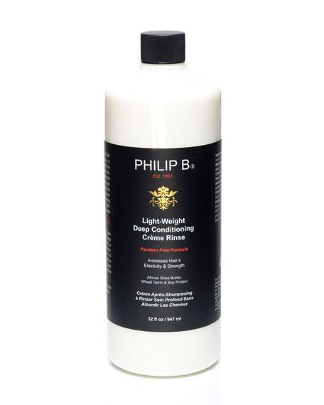 Light-Weight Deep  Conditioning Creme Rinse—Paraben Free Formula, 32 oz.