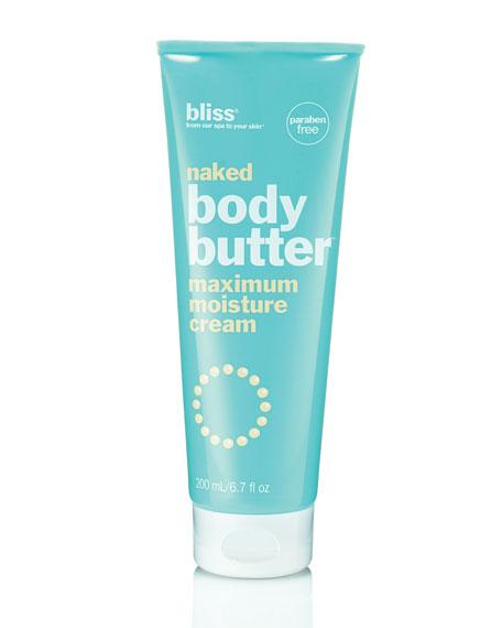 naked body butter, 6.7 oz.