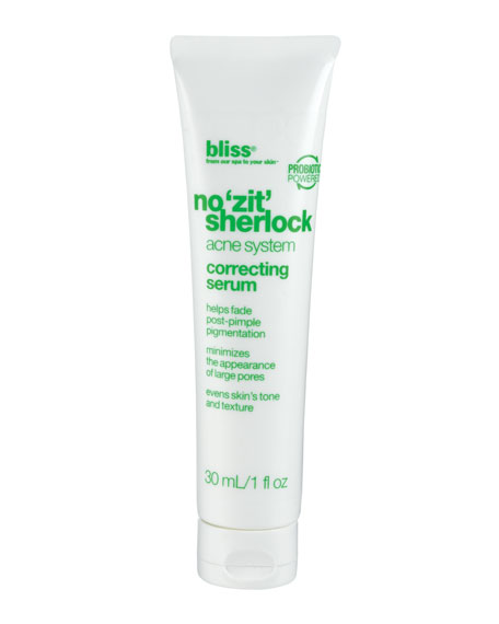 no 'zit' sherlock correcting serum