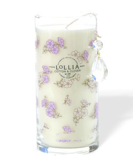 Cotton & Clover Tall Perfumed Luminary