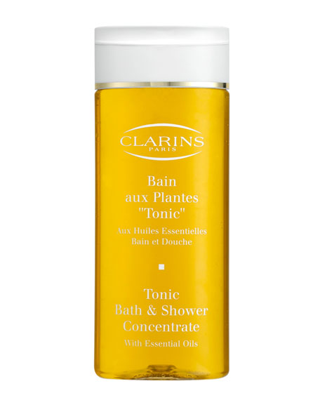 clarins tonic bath amp shower concentrate clarins tonic bath and shower concentrate product