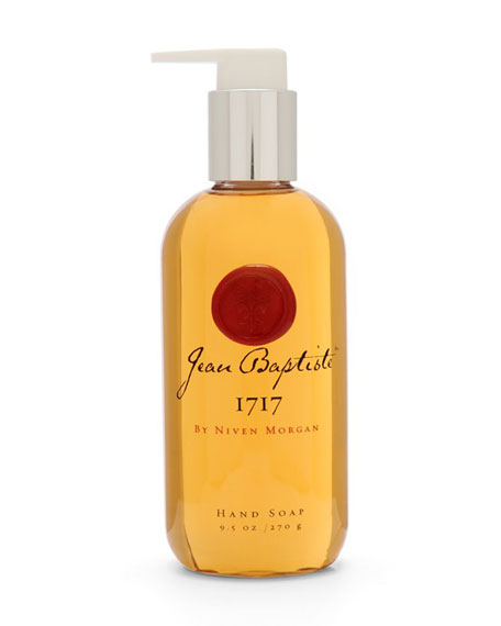 Jean Baptiste 1717 Hand Soap, 9.5 oz.