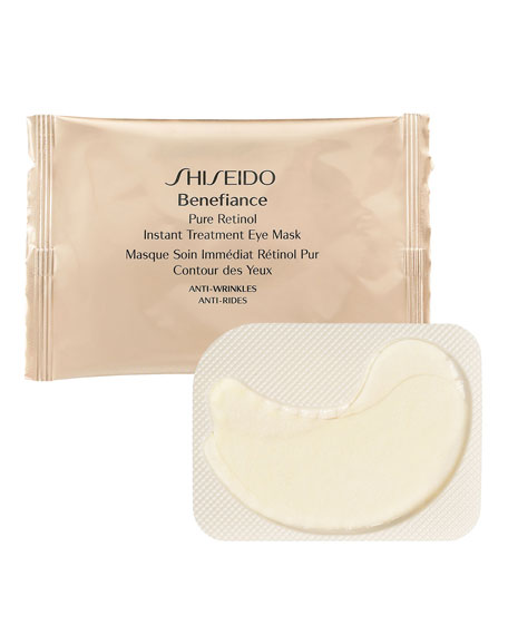 ShiseidoPure Retinol Instant Treatment Eye Mask