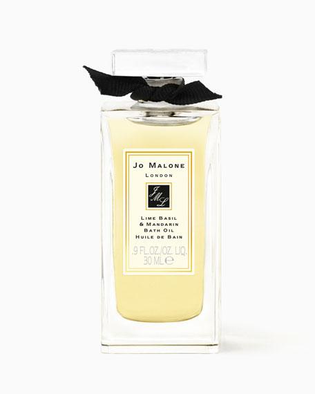 Lime Basil & Mandarin Bath Oil, 0.9 oz.