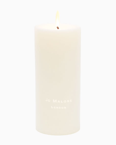 Lime Basil & Mandarin Pillar Candle, Large