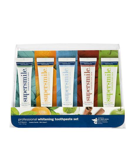 Professional Whitening Toothpaste Set