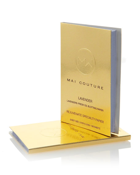 Mai Couture Lavender Rejuvenate Oil Blotting Papier